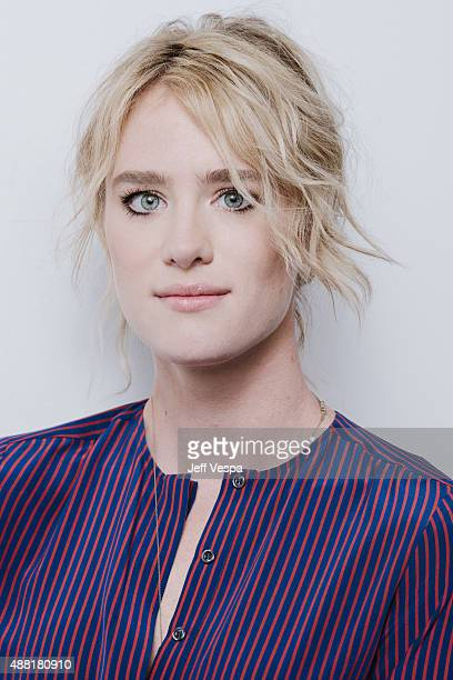 Actress Mackenzie Davis of 'The Martian' poses for a portrait at the 2015 Toronto Film Festival at the TIFF Bell Lightbox on September 11 2015 in...