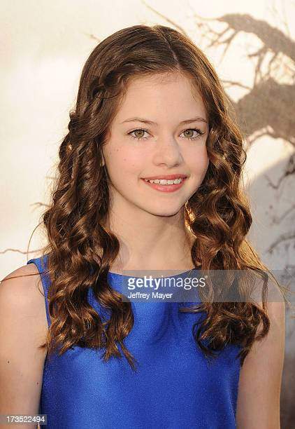 Actress Mackenzie Foy arrives at 'The Conjuring' Los Angeles Premiere at the ArcLight Cinemas Cinerama Dome on July 15 2013 in Hollywood California