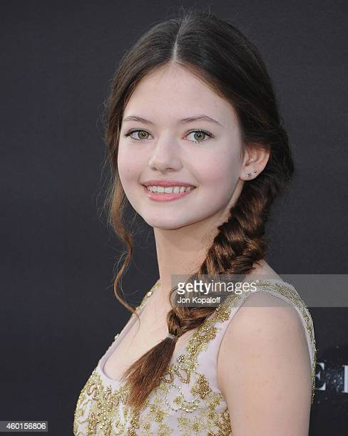 Actress Mackenzie Foy arrives at the Los Angeles Premiere 'Interstellar' at TCL Chinese Theatre IMAX on October 26 2014 in Hollywood California