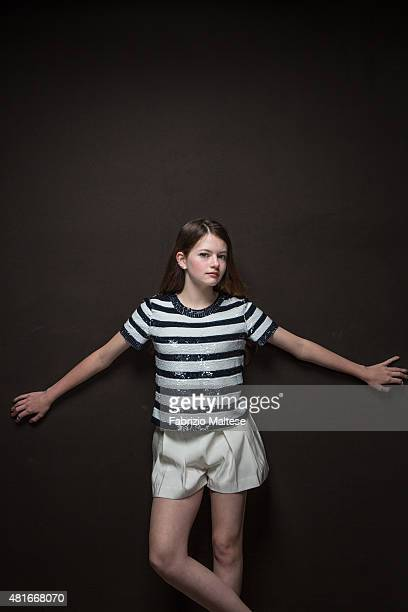 Actress Mackenzie Foy is photographed for The Hollywood Reporter on May 15 2015 in Cannes France **NO SALES IN USA TILL AUGUST 28 2015**