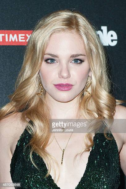 Actress Mackenzie Mauzy arrives at the People's 'One To Watch' Event at The Line on October 9 2014 in Los Angeles California