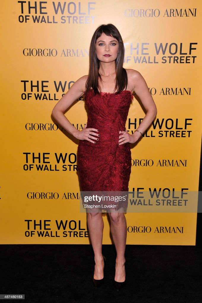 Actress MacKenzie Meehan attends Giorgio Armani Presents: 'The Wolf Of Wall Street' world premiere at the Ziegfeld Theatre on December 17, 2013 in New York City.