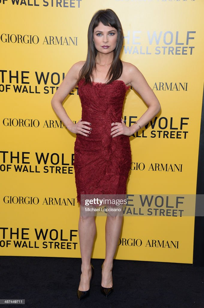 Actress Mackenzie Meehan attends the 'The Wolf Of Wall Street' premiere at the Ziegfeld Theatre on December 17, 2013 in New York City.