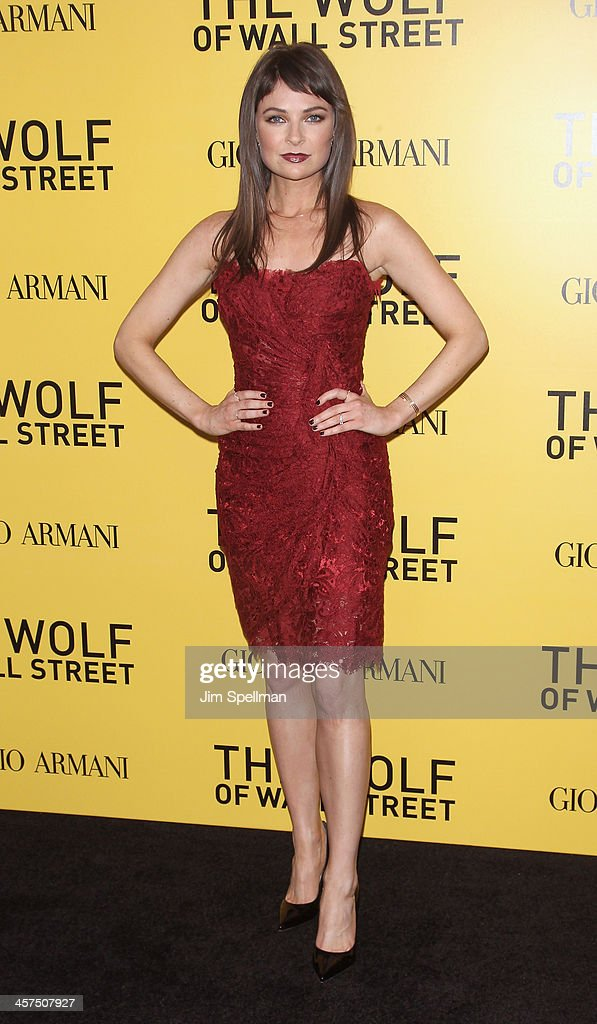 Actress MacKenzie Meehan attends the 'The Wolf Of Wall Street' premiere at Ziegfeld Theater on December 17, 2013 in New York City.