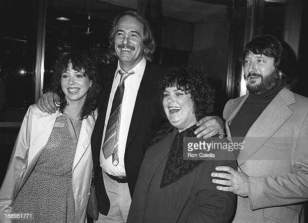 Actress Mackenzie Phillips and musicians John Phillips Denny Doherty and actor Spanky McFarland attend Electra Asylum Party for Richard Perry on...