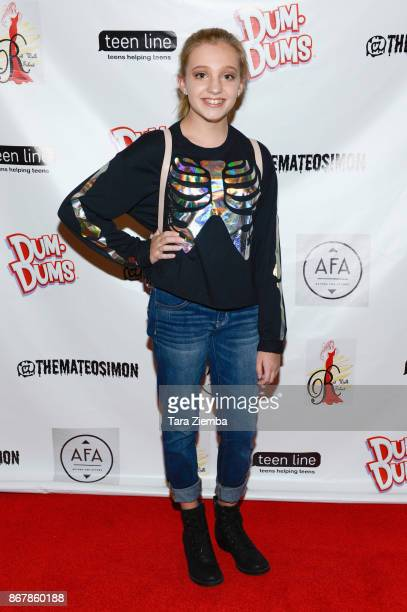 Actress Macy Peele attends Mateo Simon's Halloween Charity Event on October 28 2017 in Burbank California