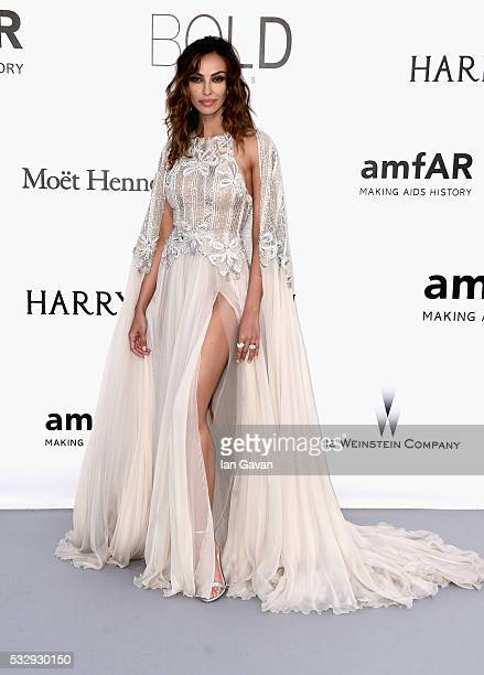 Actress Madalina Diana Ghenea arrives at amfAR's 23rd Cinema Against AIDS Gala at Hotel du CapEdenRoc on May 19 2016 in Cap d'Antibes France
