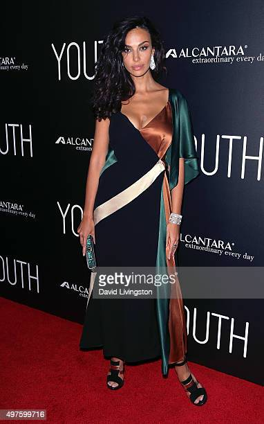 Actress Madalina Diana Ghenea attends the premiere of Fox Searchlight Pictures' 'Youth' at the DGA Theater on November 17 2015 in Los Angeles...