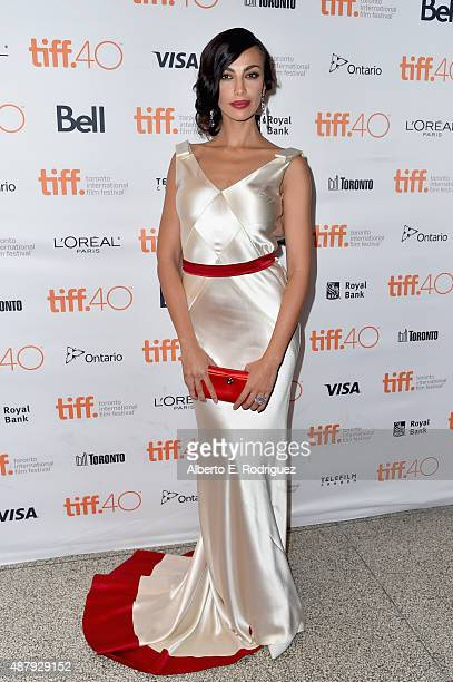 Actress Madalina Diana Ghenea attends the 'Youth' premiere during the 2015 Toronto International Film Festival at The Elgin on September 12 2015 in...