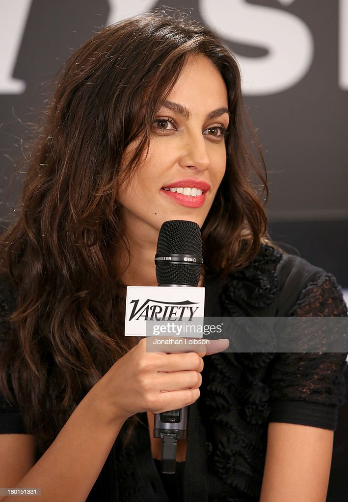 Actress Madalina Diana Ghenea attends Variety Studio presented by Moroccanoil at Holt Renfrew during the 2013 Toronto International Film Festival on September 9, 2013 in Toronto, Canada.