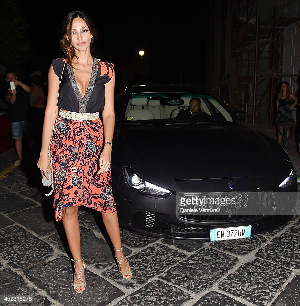 Actress Madalina Ghenea attends Day 6 of the Maserati At Ischia Global Fest on July 17 2014 in Ischia Italy