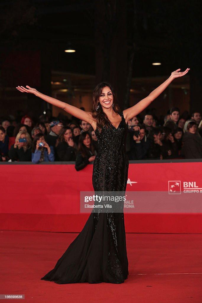 Actress Madalina Ghenea attends the 'Razza Bastarda' Premiere during the 7th Rome Film Festival at the Auditorium Parco Della Musica on November 17, 2012 in Rome, Italy.