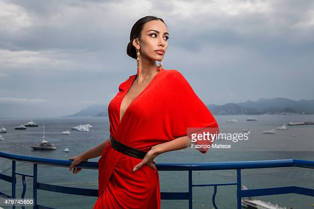 Actress Madalina Ghenea is photographed for The Hollywood Reporter on May 15 2015 in Cannes France **NO SALES IN USA TILL AUGUST 28 2015**