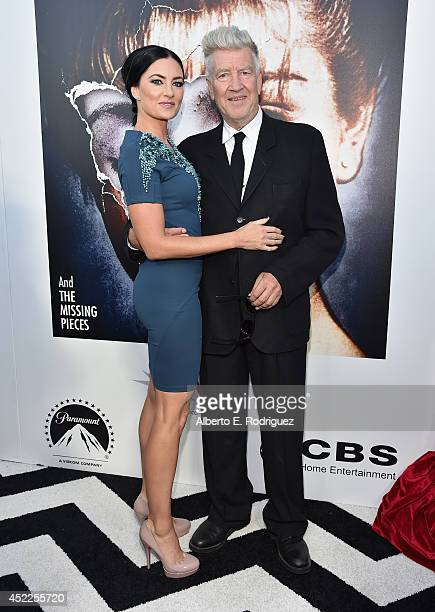 Actress Madchen Amick and director David Lynch arrive to The American Film Institute Presents 'Twin PeaksThe Entire Mystery' BluRay/DVD Release...