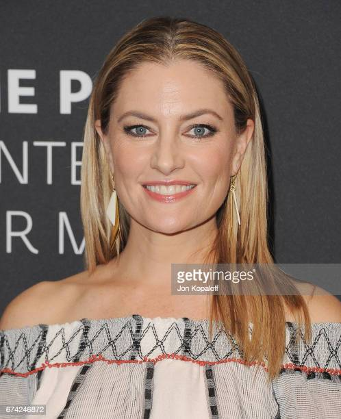 Actress Madchen Amick arrives at the 2017 PaleyLive LA Spring Season 'Riverdale' Screening And Conversation at The Paley Center for Media on April 27...