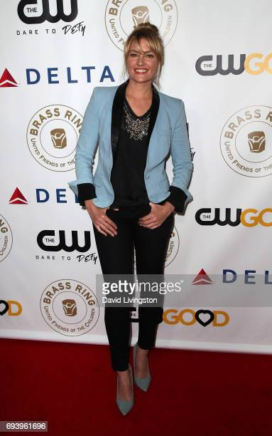 Actress Madchen Amick attends the 14th Annual Brass Ring Awards Dinner at The Beverly Hilton Hotel on June 8 2017 in Beverly Hills California