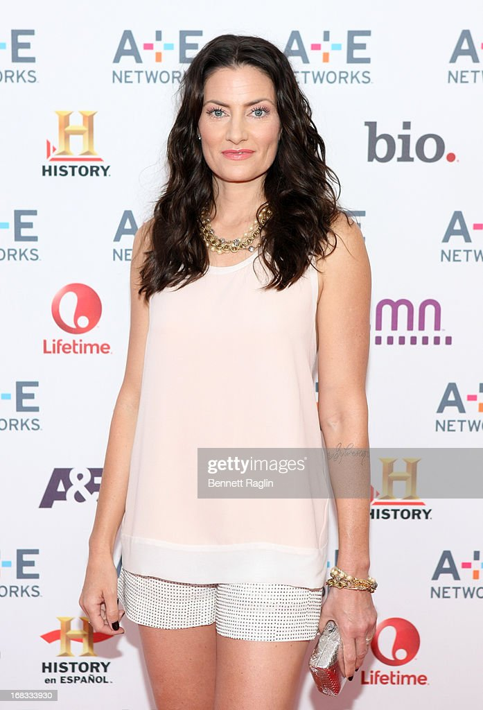 Actress Madchen Amick attends the 2013 A+E Networks Upfront at Lincoln Center on May 8, 2013 in New York City.