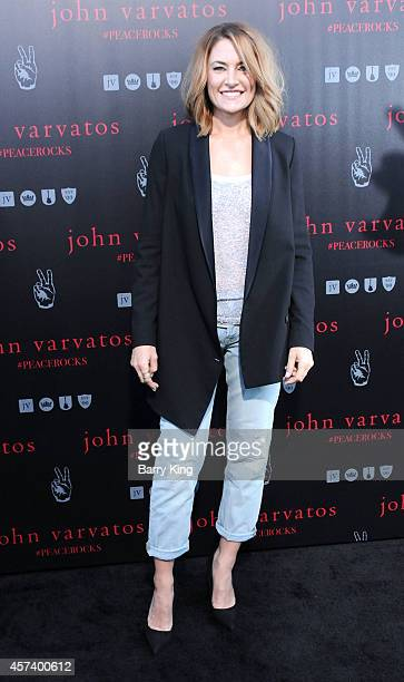 Actress Madchen Amick attends the International Peace Day celebration at John Varvatos on September 21 2014 in Los Angeles California