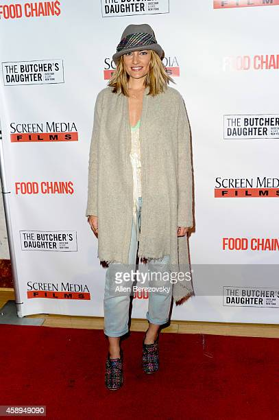 Actress Madchen Amick attends the Los Angeles Premiere of 'Food Chains' at The Los Angeles Theater Center on November 13 2014 in Los Angeles...