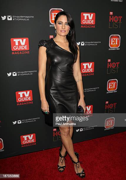 Actress Madchen Amick attends TV Guide magazine's annual Hot List Party at The Emerson Theatre on November 4 2013 in Hollywood California