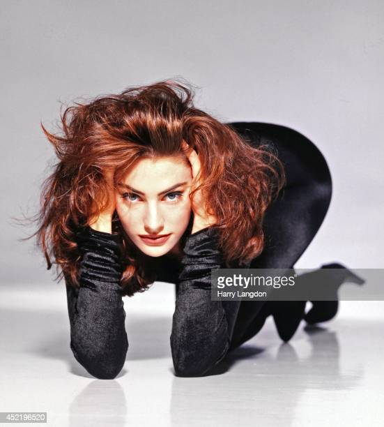 Actress Madchen Amick poses for a portrait in 1992 in Los Angeles California