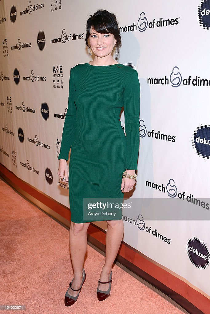 Actress Madchen Amick<attends the March of Dimes Celebration of Babies Luncheon> at Beverly Hills Hotel on December 6, 2013 in Beverly Hills, California.