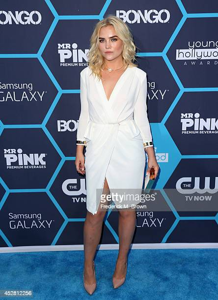 Actress Maddie Hassen attends the 2014 Young Hollywood Awards brought to you by Samsung Galaxy at The Wiltern on July 27 2014 in Los Angeles...