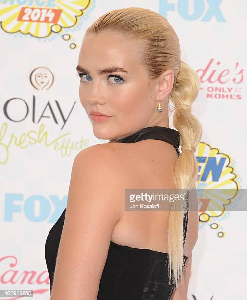 Actress Maddie Hasson arrives at the 2014 Teen Choice Awards at The Shrine Auditorium on August 10 2014 in Los Angeles California