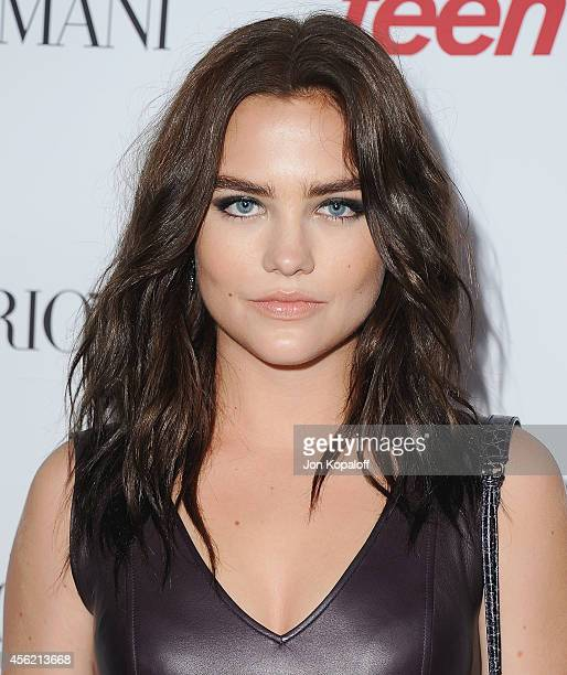 Actress Maddie Hasson arrives at the Teen Vogue Young Hollywood Party on September 26 2014 in Los Angeles California