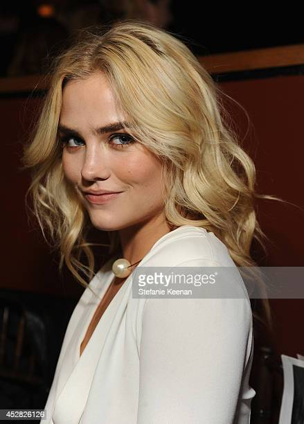 Actress Maddie Hasson at the 2014 Young Hollywood Awards brought to you by Samsung Galaxy at The Wiltern on July 27 2014 in Los Angeles California...