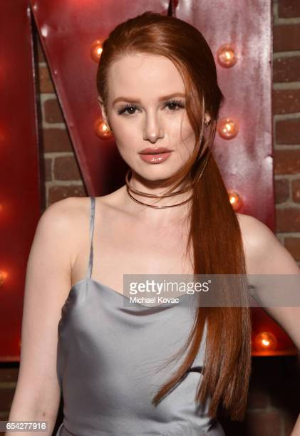 Actress Madelaine Petsch attends day one of TAO Beauty Essex Avenue Luchini LA Grand Opening on March 16 2017 in Los Angeles California