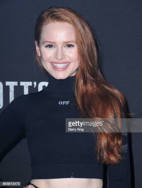 Actress Madelaine Petsch attends Knott's Scary Farm and Instagram Celebrity Night at Knott's Berry Farm on September 29 2017 in Buena Park California