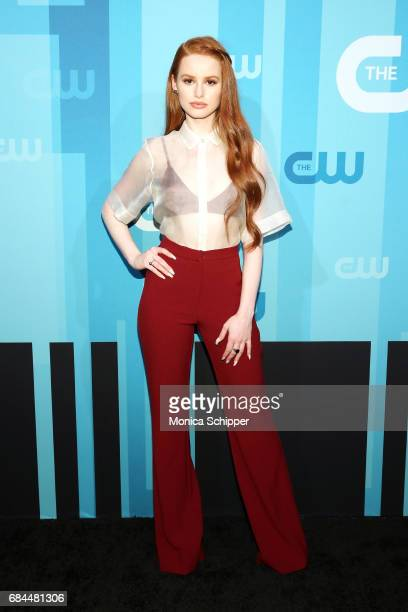 Actress Madelaine Petsch attends the 2017 CW Upfront on May 18 2017 in New York City