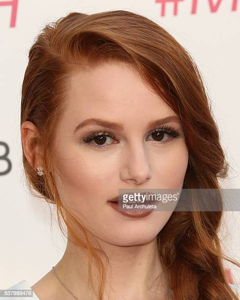 Actress Madelaine Petsch attends the Maybelline New York Beauty Bash at The Line Hotel on June 3 2016 in Los Angeles California