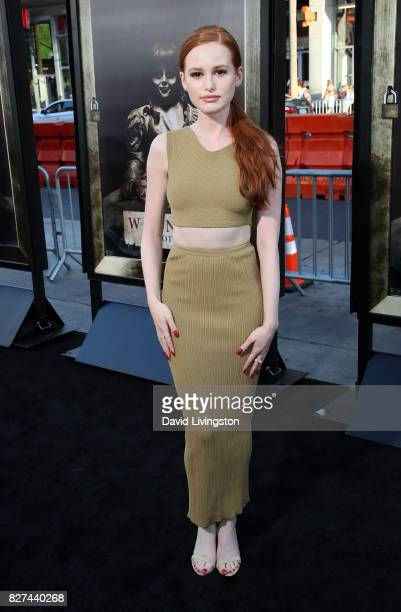 Actress Madelaine Petsch attends the premiere of New Line Cinema's 'Annabelle Creation' at TCL Chinese Theatre on August 7 2017 in Hollywood...