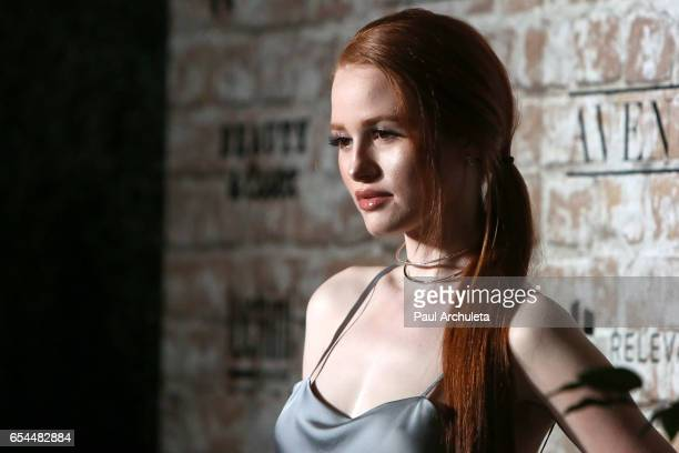 Actress Madelaine Petsch attends the TAO Beauty and Essex Avenue and Luchini LA Grand Opening on March 16 2017 in Los Angeles California