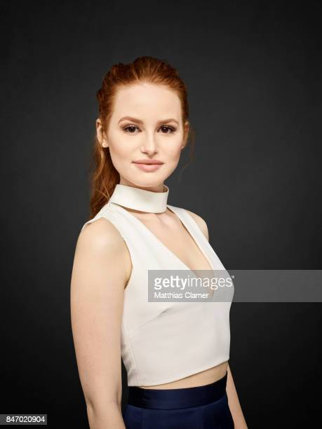 Actress Madelaine Petsch from 'Riverdale' is photographed for Entertainment Weekly Magazine on July 23 2016 at Comic Con in the Hard Rock Hotel in...