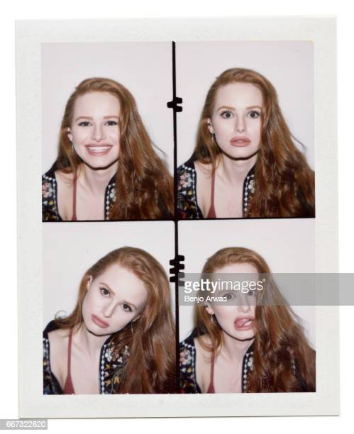 Actress Madelaine Petsch is photographed for Popular TV on February 23 2017 in Los Angeles California