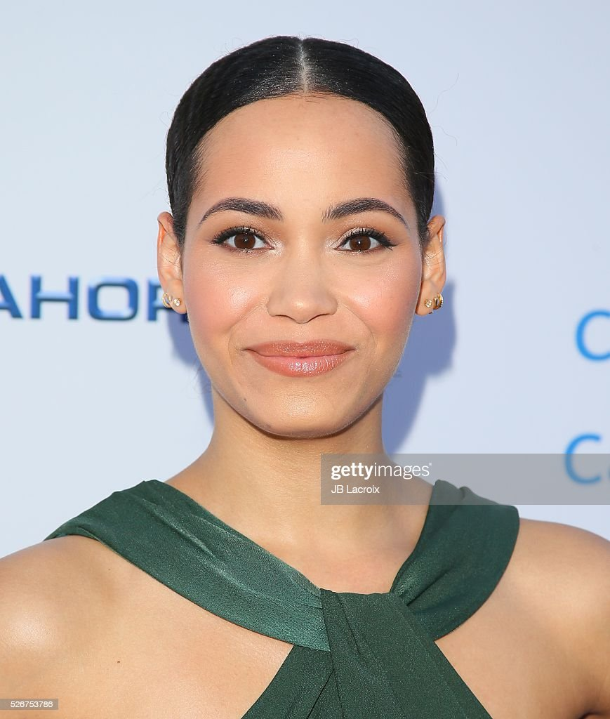 Actress Madeleine Mantock attends Covenant House Of California's Annual Fundraising Gala, A Night Honoring Our Stars at The Globe Theatre at Universal Studios on April 30, 2016 in Universal City, California.