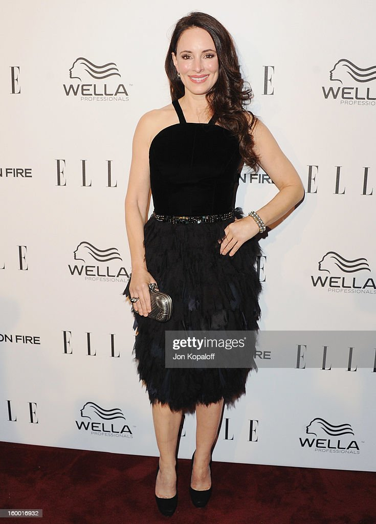 Actress Madeleine Stowe arrives at ELLE's 2nd Annual Women In TV Event at Soho House on January 24, 2013 in West Hollywood, California.