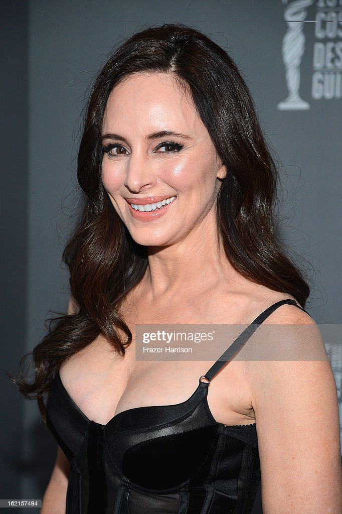 Actress Madeleine Stowe attends the 15th Annual Costume Designers Guild Awards with presenting sponsor Lacoste at The Beverly Hilton Hotel on February 19, 2013 in Beverly Hills, California.