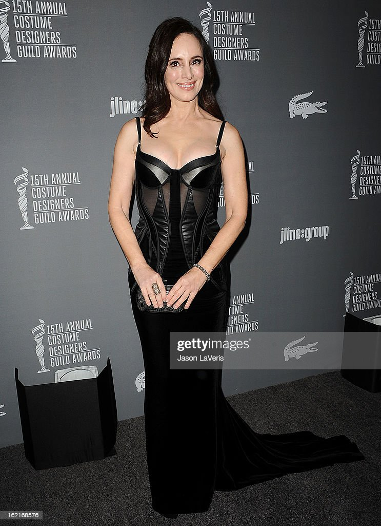 Actress Madeleine Stowe attends the 15th annual Costume Designers Guild Awards at The Beverly Hilton Hotel on February 19, 2013 in Beverly Hills, California.