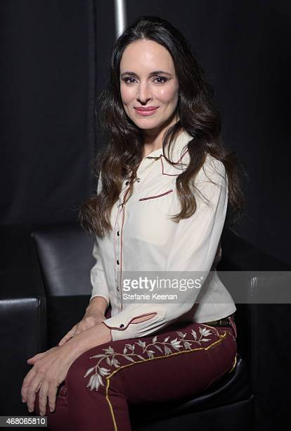 Actress Madeleine Stowe attends the screening of 'The Philadelphia Story' during day four of the 2015 TCM Classic Film Festival on March 29 2015 in...