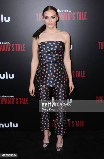Actress Madeline Brewer attends premiere of Hulu's 'The Handmaid's Tale' at ArcLight Cinemas Cinerama Dome on April 25 2017 in Hollywood California