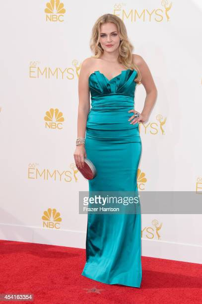 Actress Madeline Brewer attends the 66th Annual Primetime Emmy Awards held at Nokia Theatre LA Live on August 25 2014 in Los Angeles California