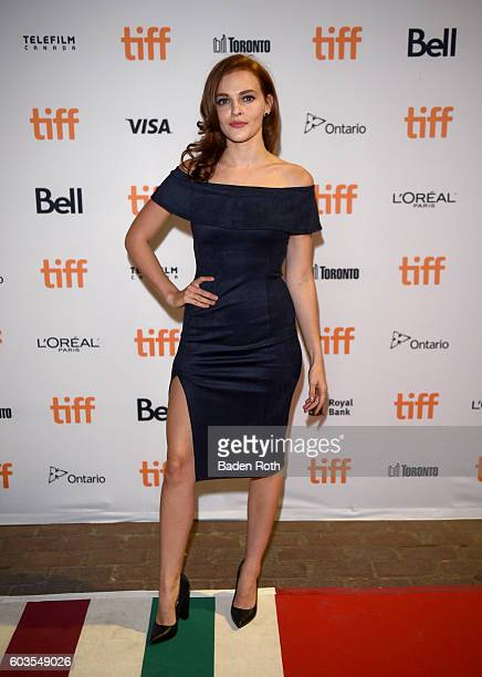 Actress Madeline Brewer attends the 'Black Mirror' Premiere during the 2016 Toronto International Film Festival at Ryerson Theatre on September 12...