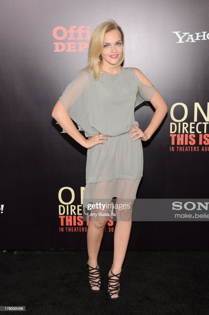 Actress Madeline Brewer attends the New York premiere of 'One Direction: This Is Us' at the Ziegfeld Theater on August 26, 2013 in New York City.