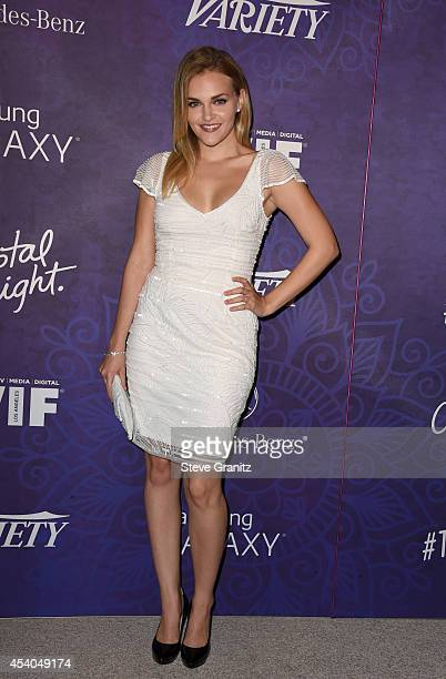 Actress Madeline Brewer attends Variety and Women in Film Annual PreEmmy Celebration at Gracias Madre on August 23 2014 in West Hollywood California