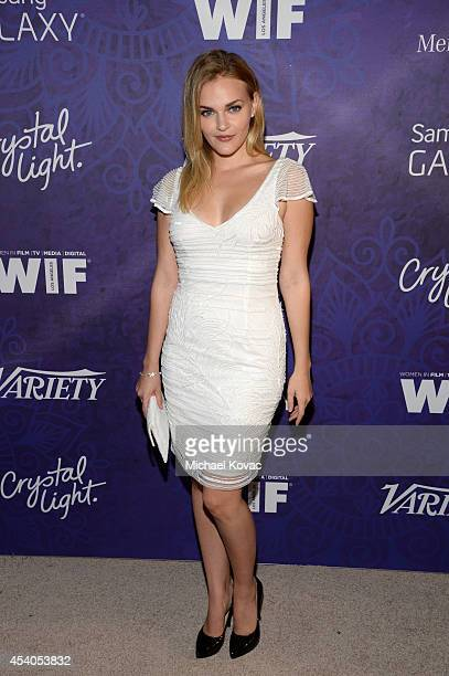 Actress Madeline Brewer attends Variety and Women in Film Emmy Nominee Celebration powered by Samsung Galaxy on August 23 2014 in West Hollywood...