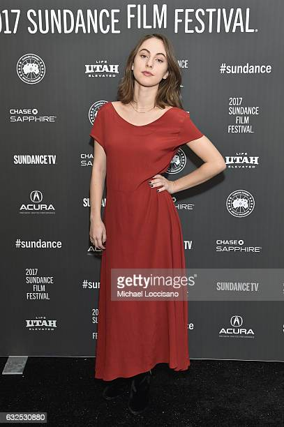 Actress Madeline Weinstein attends the 'Beach Rats' Premiere at Eccles Center Theatre on January 23 2017 in Park City Utah